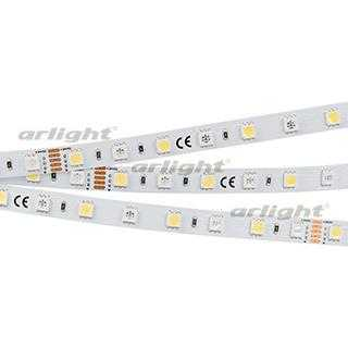 Лента RT6-5050-60 24V RGB-White 2x (300 LED) (ARL, 14.4 Вт/м, IP20)